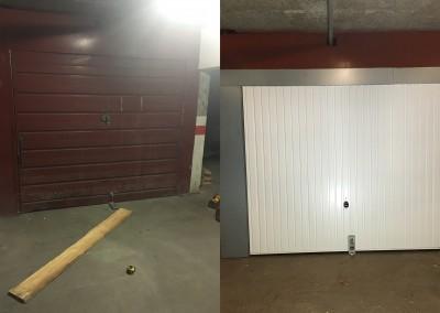 Rénovation de porte de garage